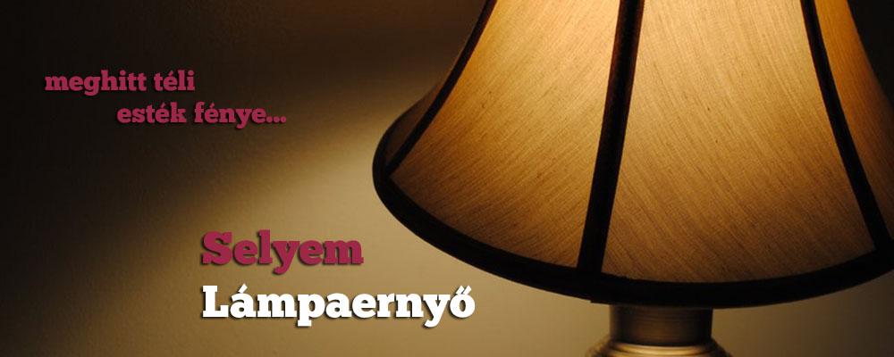 Selyem Lámpaernyő